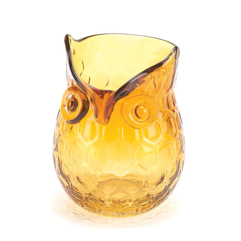 Amber Pop Owl Vase - F. W. Woolworth Co. Online Store
