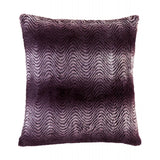 Orchid Ombre Fur Pillow - F. W. Woolworth Co. Online Store