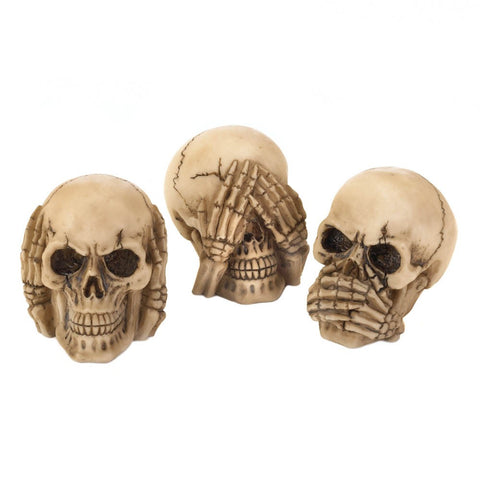 See Hear Speak Skulls Trio - F. W. Woolworth Co. Online Store