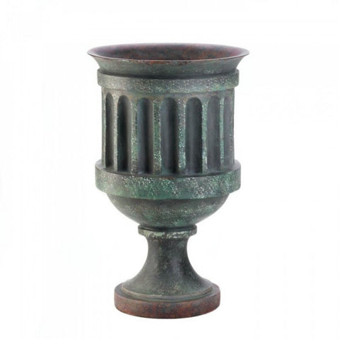 Large Weathered Pedestal Planter - F. W. Woolworth Co. Online Store