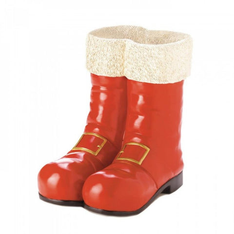 Santa Red Boots Decorative Vase - F. W. Woolworth Co. Online Store