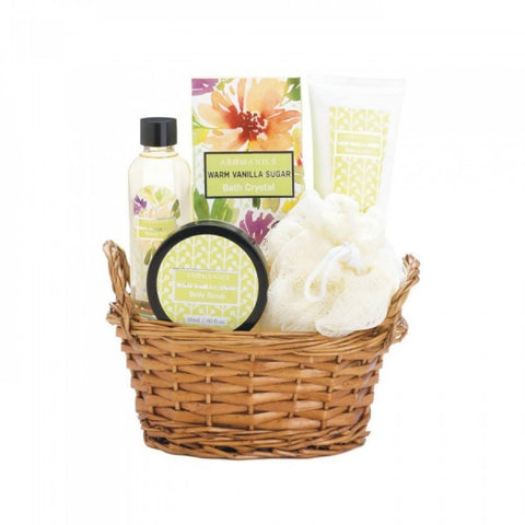 Warm Vanilla Sugar Spa Set - F. W. Woolworth Co. Online Store