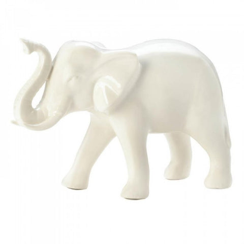 Classic White Decorative Elephant - F. W. Woolworth Co. Online Store