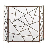 Modern Geometric Fireplace Screen - F. W. Woolworth Co. Online Store