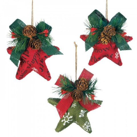 Christmas Stars Ornament Set - F. W. Woolworth Co. Online Store