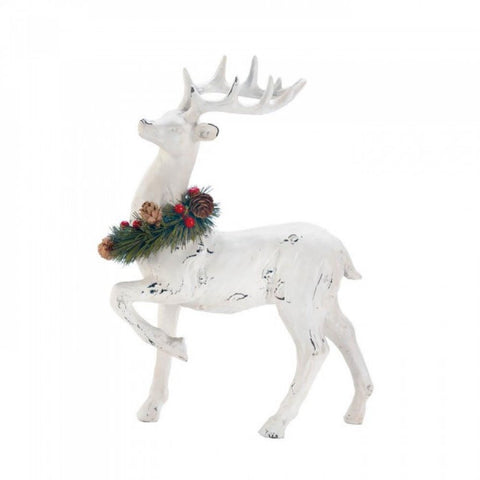 Prancer With Wreath Figurine - F. W. Woolworth Co. Online Store