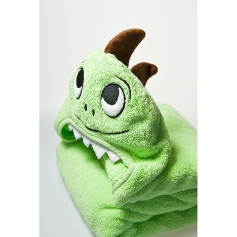 Dino Hooded Cotton Turkish Towel: Baby - F. W. Woolworth Co. Online Store