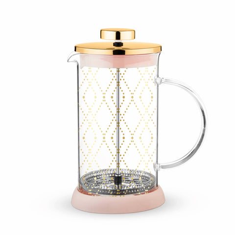 Riley™ Mini Souk Gold Glass Tea Press Pot by Pinky Up® - F. W. Woolworth Co. Online Store