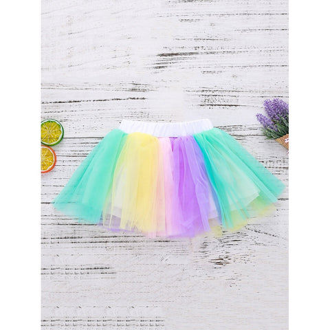 Colorful Mesh Birthday Skirt - F. W. Woolworth Co. Online Store