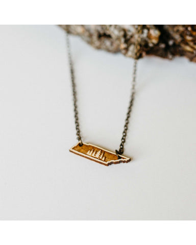 Tennessee Trees Pendant Necklace