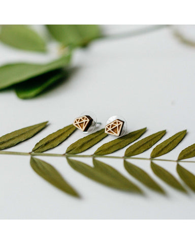 Mini Diamond Stud Earrings - F. W. Woolworth Co. Online Store