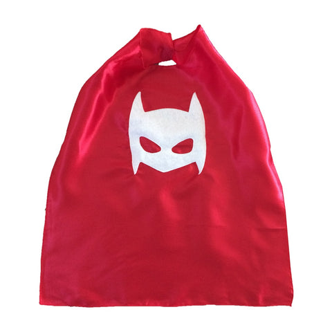 Pow - Superhero Cape - Red - F. W. Woolworth Co. Online Store