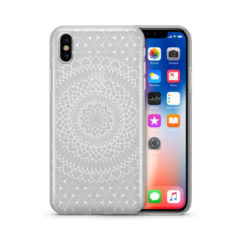 Steph Okits X Milkyway Cases Fleur Mandala - Clear TPU Case Cover - F. W. Woolworth Co. Online Store