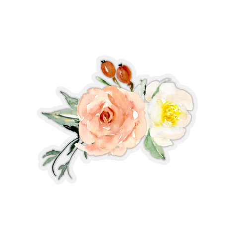 Watercolor Floral Arrangement Sticker - F. W. Woolworth Co. Online Store
