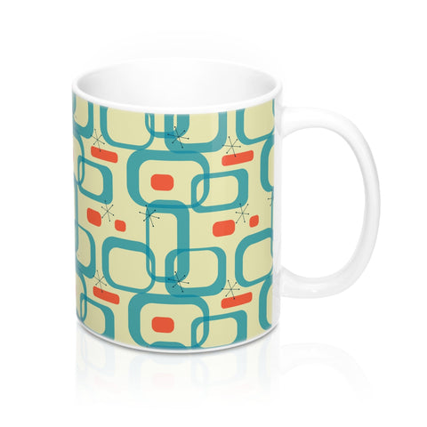 Atomic Print Mug 11oz - F. W. Woolworth Co. Online Store