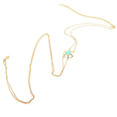 Turquoise Howlite Body Chain - F. W. Woolworth Co. Online Store