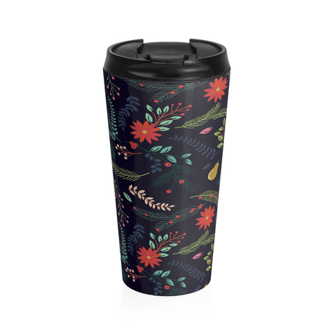 Winter Floral Coffee Mug