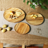 Olive Wood Chargers - F. W. Woolworth Co. Online Store