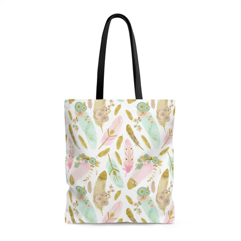 Boho Feather Tote Bag - F. W. Woolworth Co. Online Store