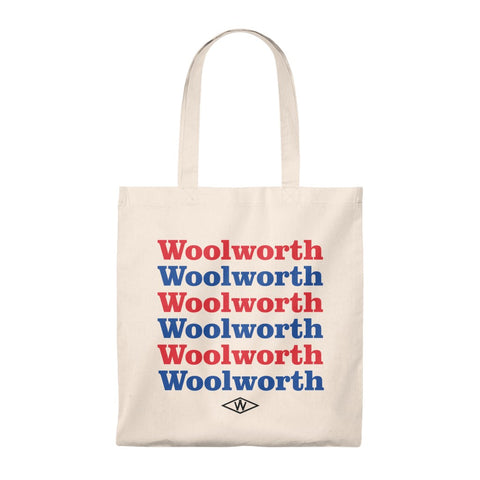Woolworth's Reusable Tote Bag - Vintage