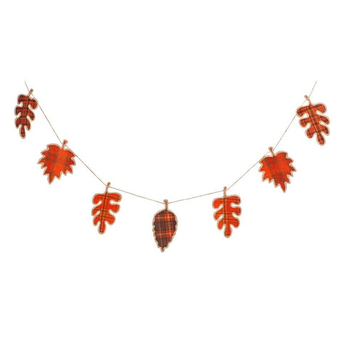Fall Foliage Seasonal Decor Banner - F. W. Woolworth Co. Online Store