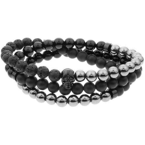 Mister Trinum Bead Bracelet - Onyx - F. W. Woolworth Co. Online Store