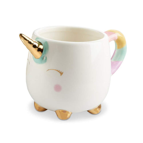 Unicorn 12 oz Gold Foil Horn Mug - F. W. Woolworth Co. Online Store