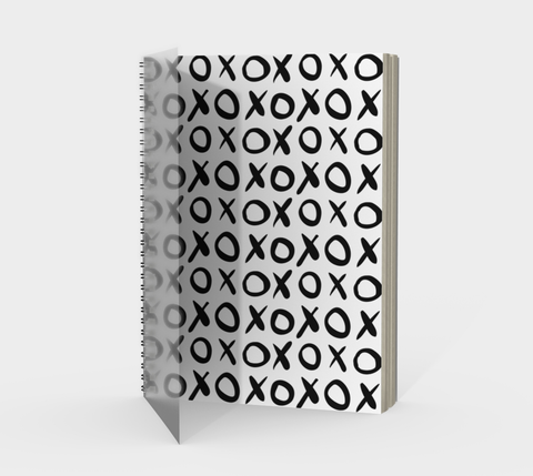 XO Spiral Notebook