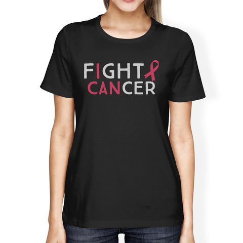 Fight Cancer I Can Womens Shirt - F. W. Woolworth Co. Online Store