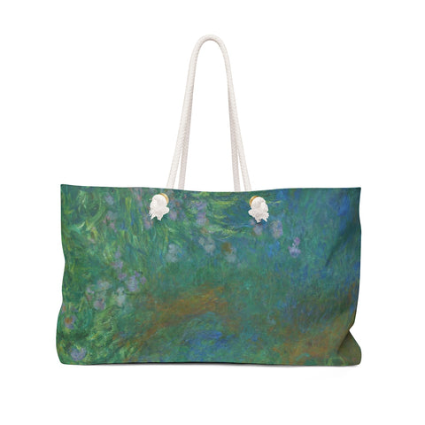 Irises by Monet Carry-all Bag