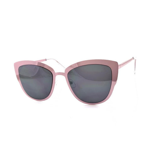 Pink Metal Mirror Sunglasses - F. W. Woolworth Co. Online Store