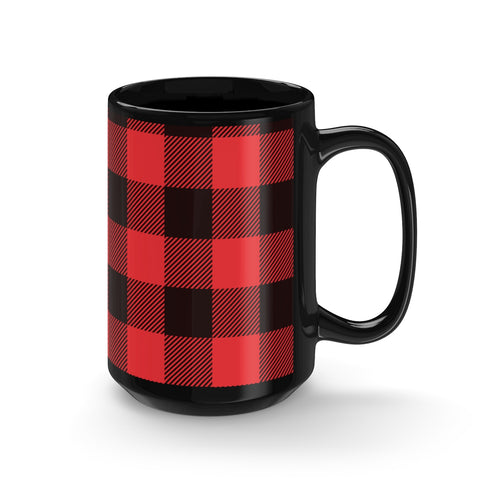 Lumber Black Mug 15oz