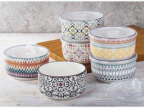 6-piece Stoneware Food Prep Storage Bowls - F. W. Woolworth Co. Online Store