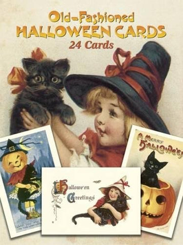 Old-Fashioned Halloween Cards: 24 Cards (Dover Postcards) - F. W. Woolworth Co. Online Store