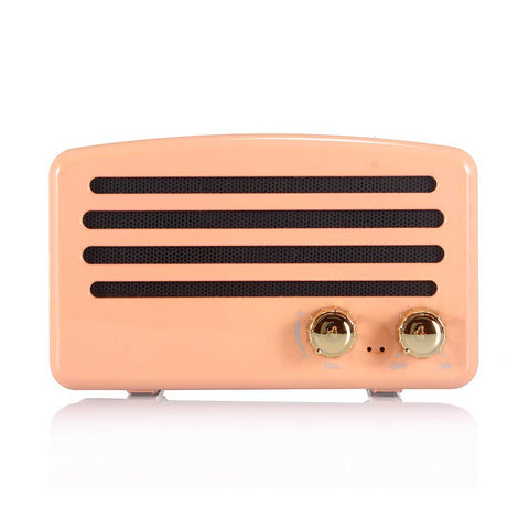Wireless Bluetooth Retro Speaker with FM Radio - F. W. Woolworth Co. Online Store