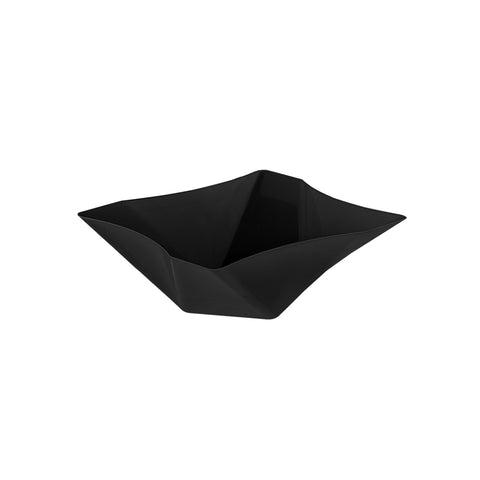Twisted Square Serving Bowls, 41-ounce, Black (Case of 12) - F. W. Woolworth Co. Online Store