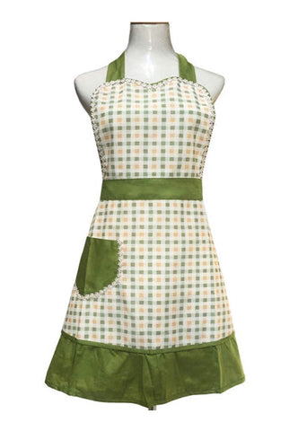 Retro Apron with Chic Pocket for Cooking - F. W. Woolworth Co. Online Store