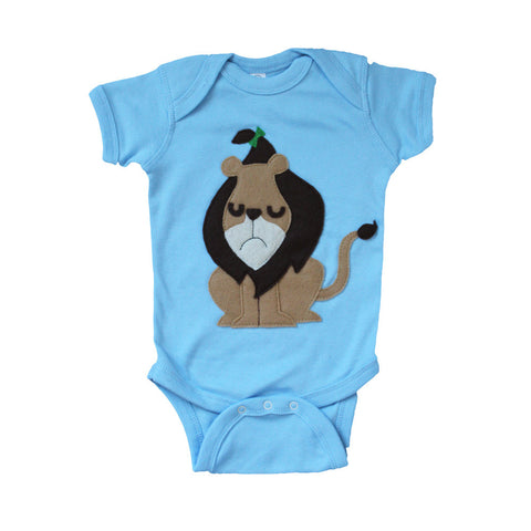 The Cowardly Lion -The Wonderful Wizard of Oz - Baby Onesie - F. W. Woolworth Co. Online Store