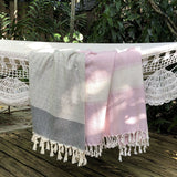 Diamond Stripe Turkish Towel