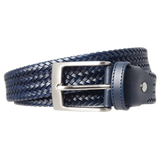 Fine Tubular Weave Belt Navy - F. W. Woolworth Co. Online Store