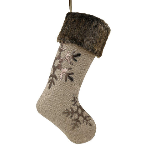 Woodland Faux Fur Stocking - F. W. Woolworth Co. Online Store