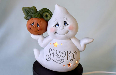 Cute Ceramic Ghost Halloween Decoration - F. W. Woolworth Co. Online Store