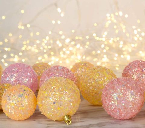 Sparkle, Merry & Bright Christmas Ornaments