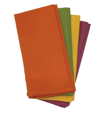 Fall Collection Dinner Napkins | Set of 4