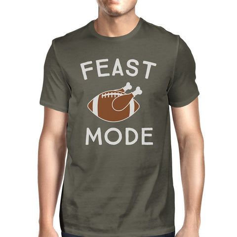 Feast Mode Mens Dark Grey Shirt - F. W. Woolworth Co. Online Store