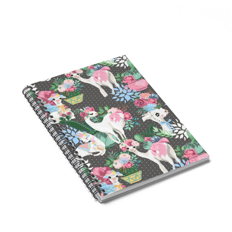 Llama Spiral Notebook - Ruled Line