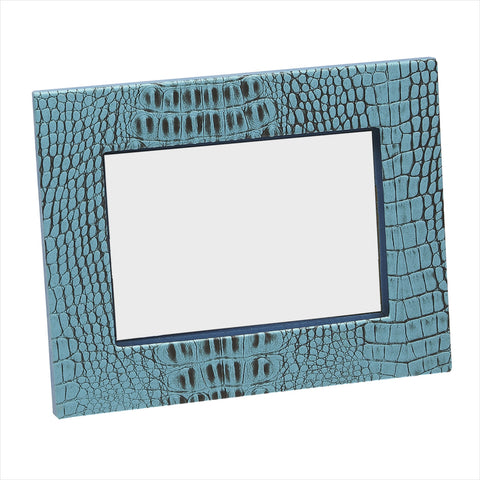 Crock Turquoise Photo Frame 5x7