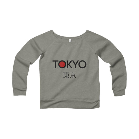 TOKYO Sponge Fleece Wide Neck Sweatshirt - F. W. Woolworth Co. Online Store