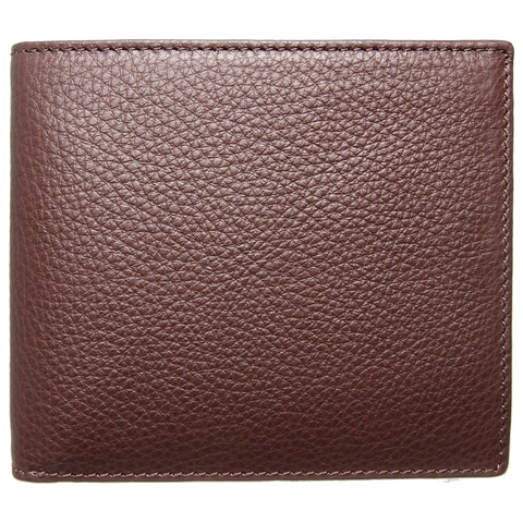 8 CC Grained Calf Leather Billfold Brown - F. W. Woolworth Co. Online Store
