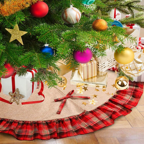 Rustic Christmas Tree Skirt - F. W. Woolworth Co. Online Store